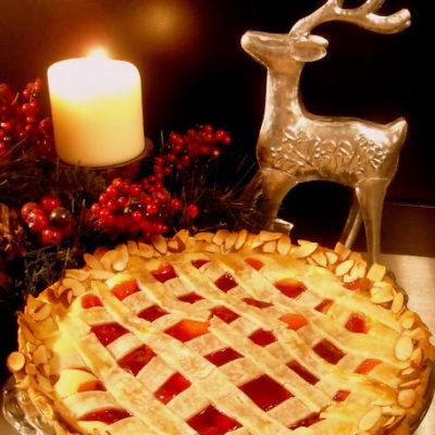 Guest Post on Food Tastes Yummy: Cherry Cheesecake Pie