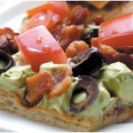 Happy New Year — Guacamole Appetizer Squares