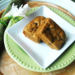 Chocolate Chip and Walnut Blondies