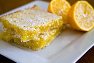 {Guest Post} Delicate Meyer Lemon Squares