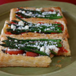 {Guest Post} Asparagus, Tomato & Feta Cheese Puff Pastry Tart Recipe