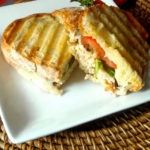 Turkey Balsamic Panini {Ciabatta Bread}