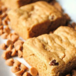 Peanut Butter and Pecan Blondies
