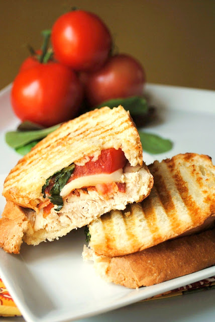 Chicken-Bacon-Panini-Simple-and-Delicious