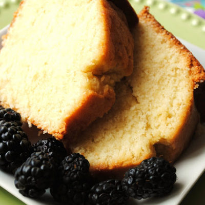 Classic Pound Cake + {Mother's Day Giveaway}
