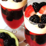 Mixed-Berry-Parfaits