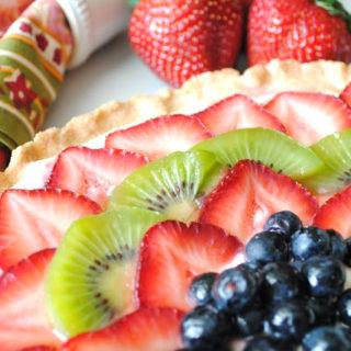 Simple Fresh Fruit Tart