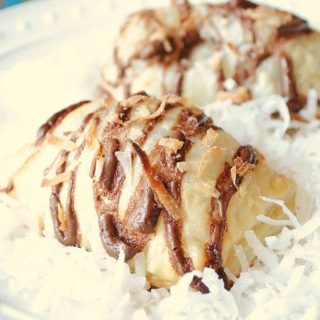 Nutella and Coconut Puffs
