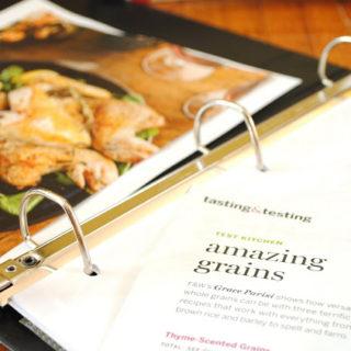 {Tips & Tricks} Organizing Food Magazine Recipes
