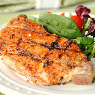 Amazing Taste Perfectly Seasoned Pork Chops {Giveaway}