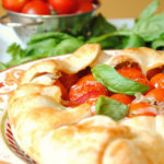 {Tips & Tricks} Making a Rustic Tart + Tomato, Basil, Mozzarella Rustic Tart Recipe