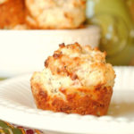 {Perfect One-Dish Dinners} Mini Parmesan Muffins with Prosciutto and Basil
