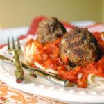Basil Meatballs
