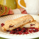 Coconut, Cranberry and Walnut Biscotti