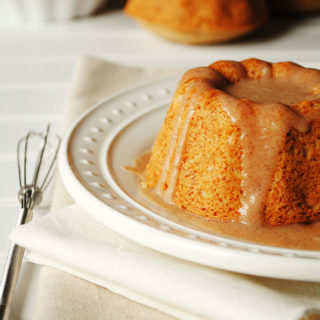 Cinnamon and Sugar Mini Doughnut Bundt Cakes