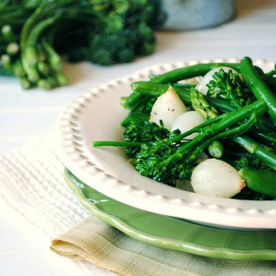 Green Spring Vegetable Medley