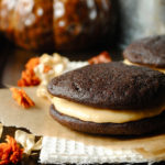 Whoopie Pies with Pumpkin Buttercream Frosting