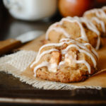 Apple Cinnamon Cookies with Maple Cinnamon Glaze