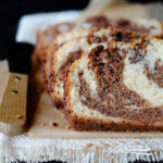 Milk Chocolate Marble Loaf Cake
