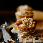 Chunky Apple Cinnamon Muffins with Crumb Topping