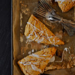 Pumpkin Scones with Pumpkin Spice Icing