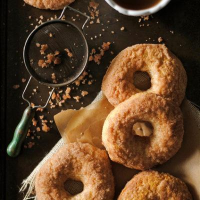 Baked Cinnamon and Sugar Doughnuts