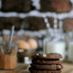 White Chocolate Chip and Macadamia Nut Chocolate Cookies