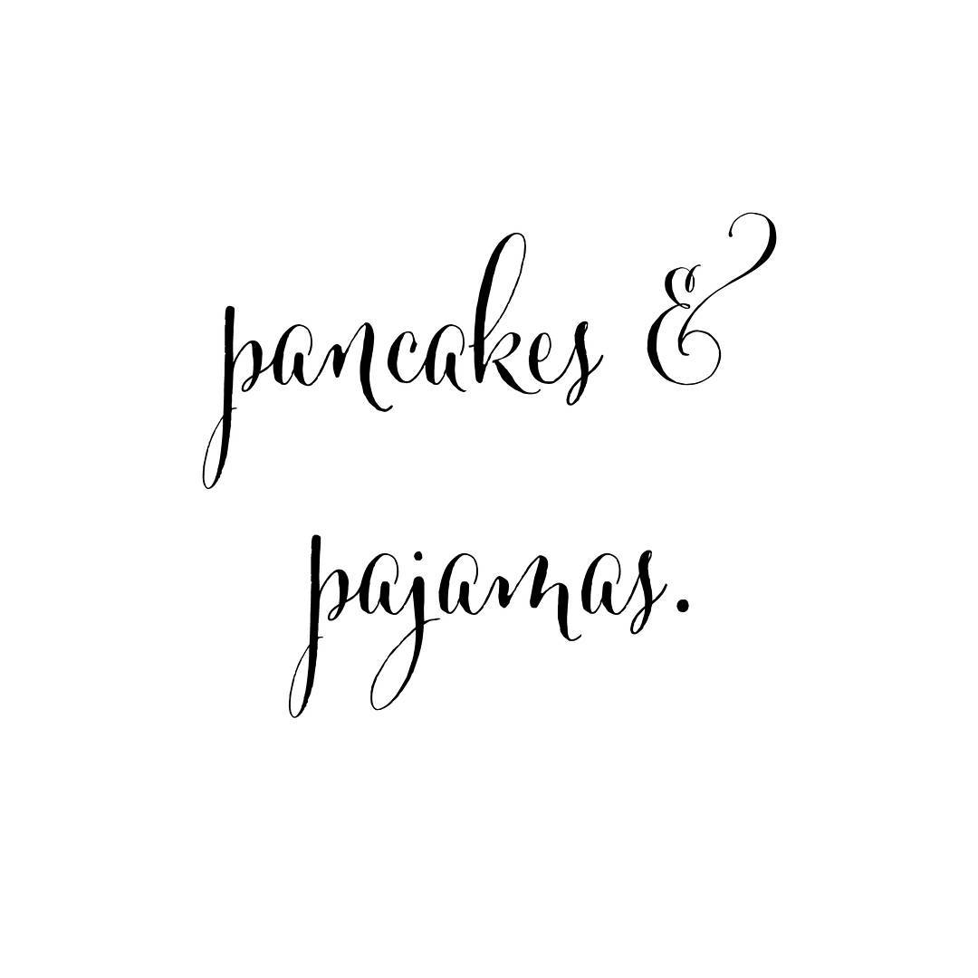 Happy Sunday!  sundayvibes sunday quote quotestgram quotesgram pancakes pajamashellip