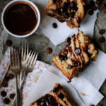 Challah Chocolate Bread Pudding with Chocolate Ganache