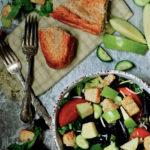 Apple and Cherry Salad