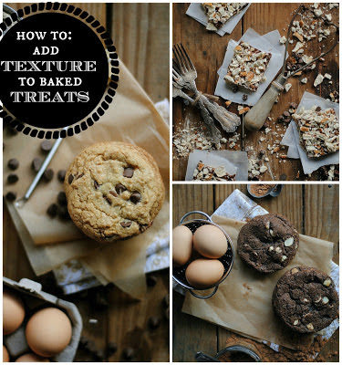 How To Add Texture to Baked Treats