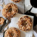 Baked-Doughnuts-with-Chocolate-and-Toasted-Coconut