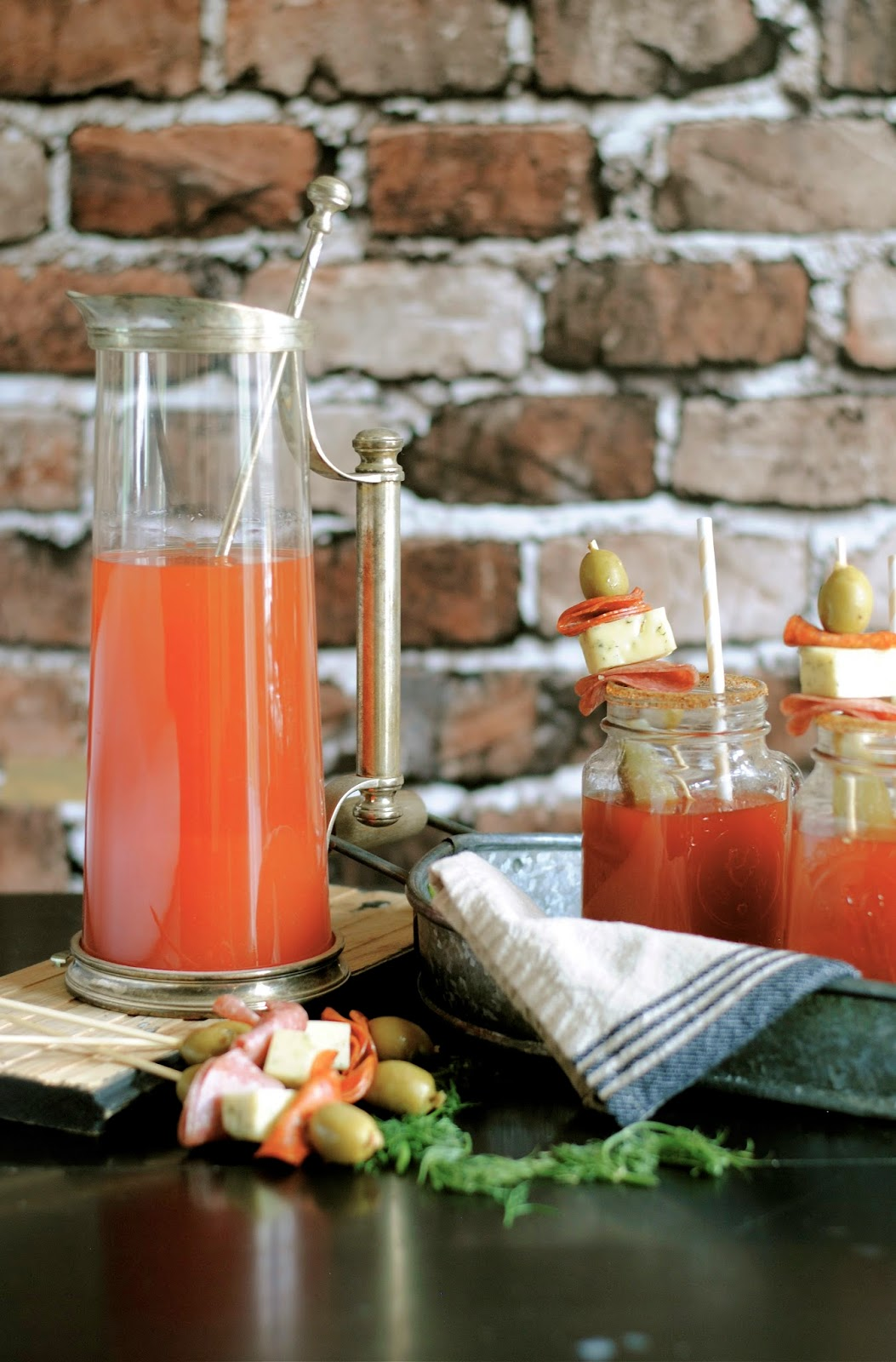 Brunch Bloody Mary How To Simplify