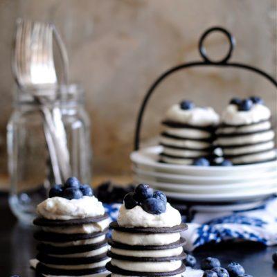 Chocolate Wafer Mini Icebox Cakes