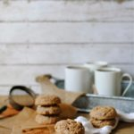 Salted Caramel Hot Cocoa Cookies