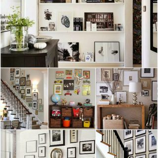 Home Decor: Photo Gallery Wall Inspiration Board