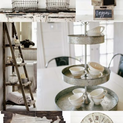 Home Decor: Rustic and Neutral Inspiration Board