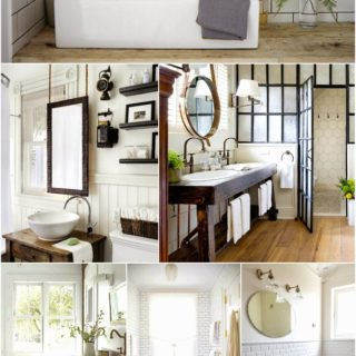 Home Decor: Bathroom Design Inspiration Board