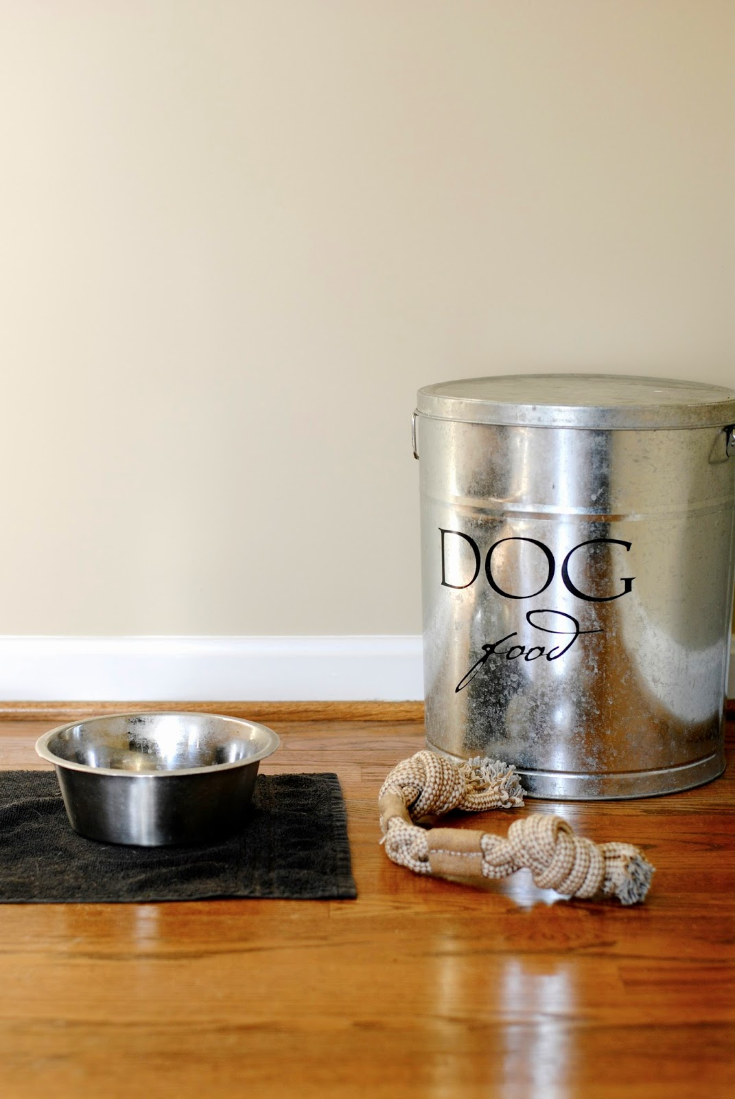 Simple Fix: Stylish and Functional Idea for Storing Dog Food