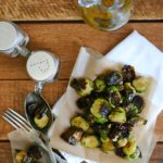Oven-Roasted Balsamic and Honey Brussels Sprouts