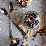 Blueberry and Chocolate Chip Yogurt Parfait