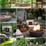 Outdoor Design: Backyard Firepit Inspiration Board