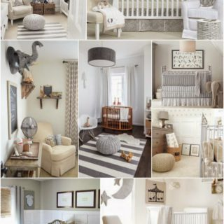Home Decor: Gender Neutral Baby Nursery Inspiration Board
