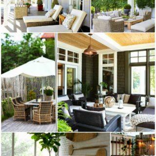Home Exterior: Porch Decor Inspiration Board