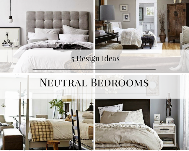 Black tan and white bedroom design ideas how to simplify - Black and white bedroom decor ideas ...