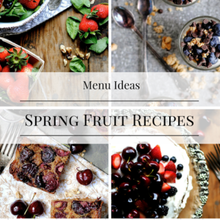 Fruit Recipes for the Spring