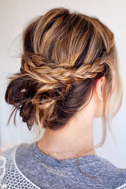 updo_hairstyles_for_short_hair_messy_braided_bun41