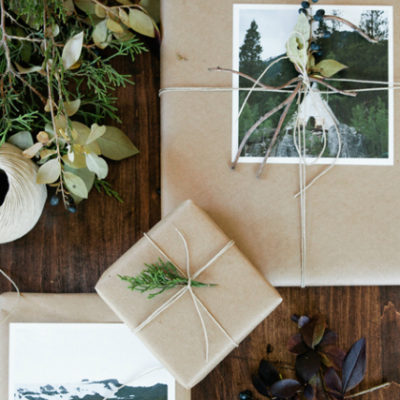 10 Brown Paper Gift Wrapping Ideas