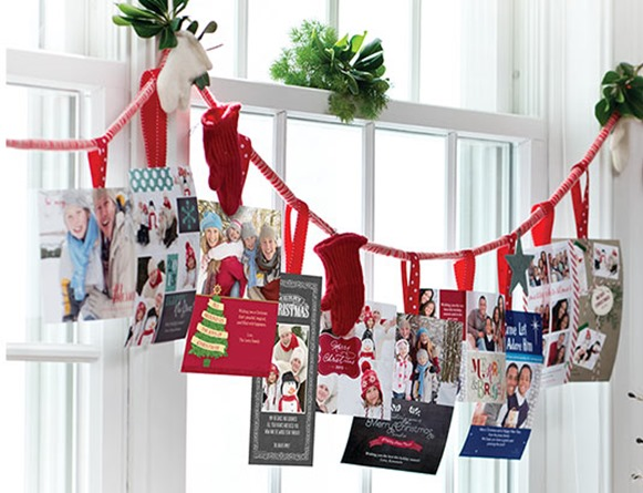 10 Cute Holiday Card Display Ideas How To Simplify