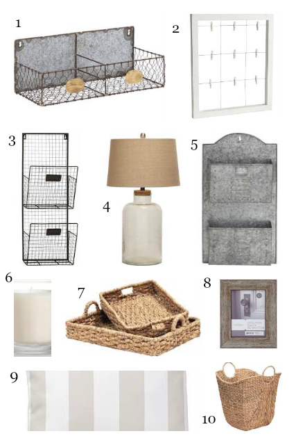 Friday find farmhouse home decor how to simplify for Find home decor